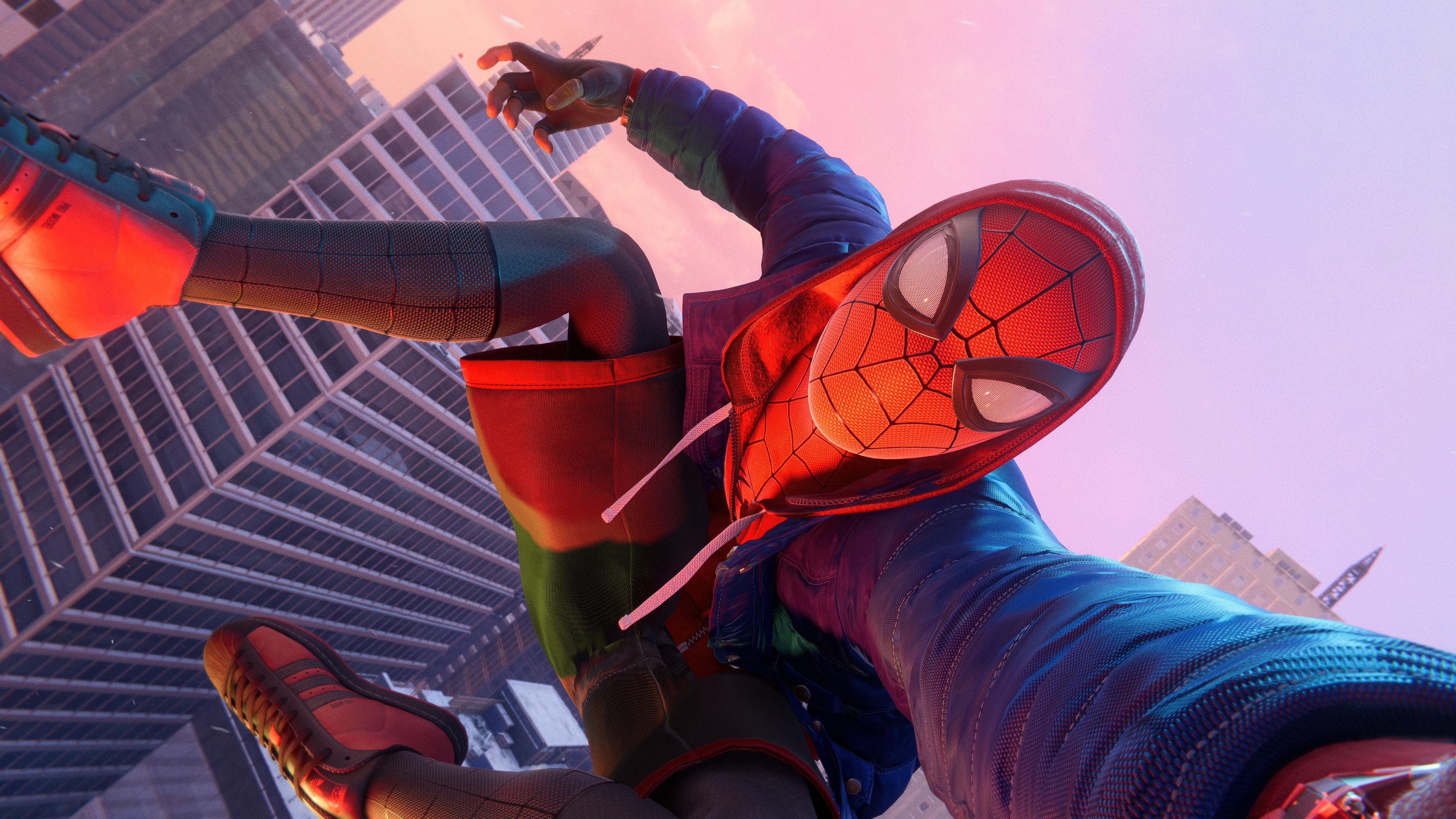 Быстрые загрузки в Marvel's Spider-Man: Miles Morales поражают /скриншот