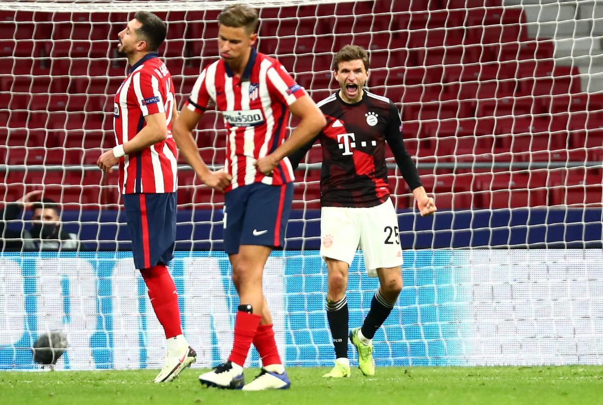 Атлетіко втратив перемогу над Баварією / фото REUTERS