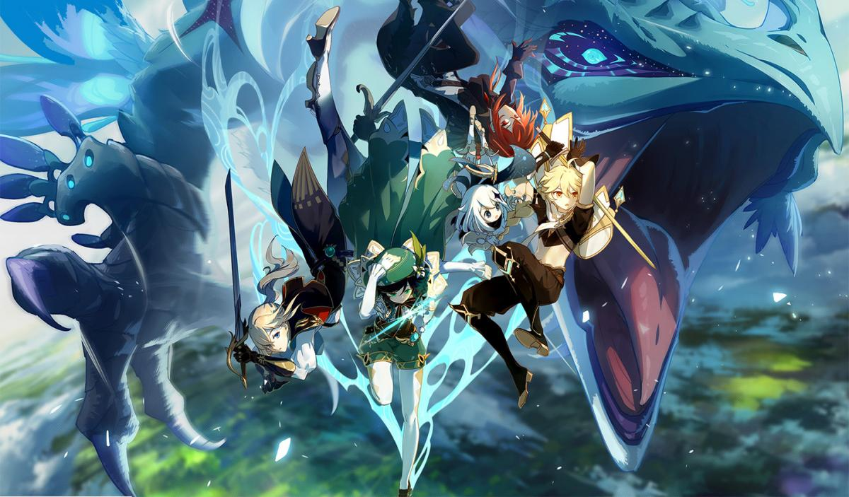 Гра Genshin Impact всього за два місяці заробила майже $400 мільйонів