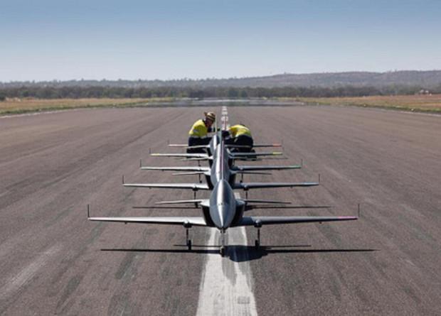 Предполагается, что группы «умных» беспилотников смогут вести разведку / Фото flightglobal