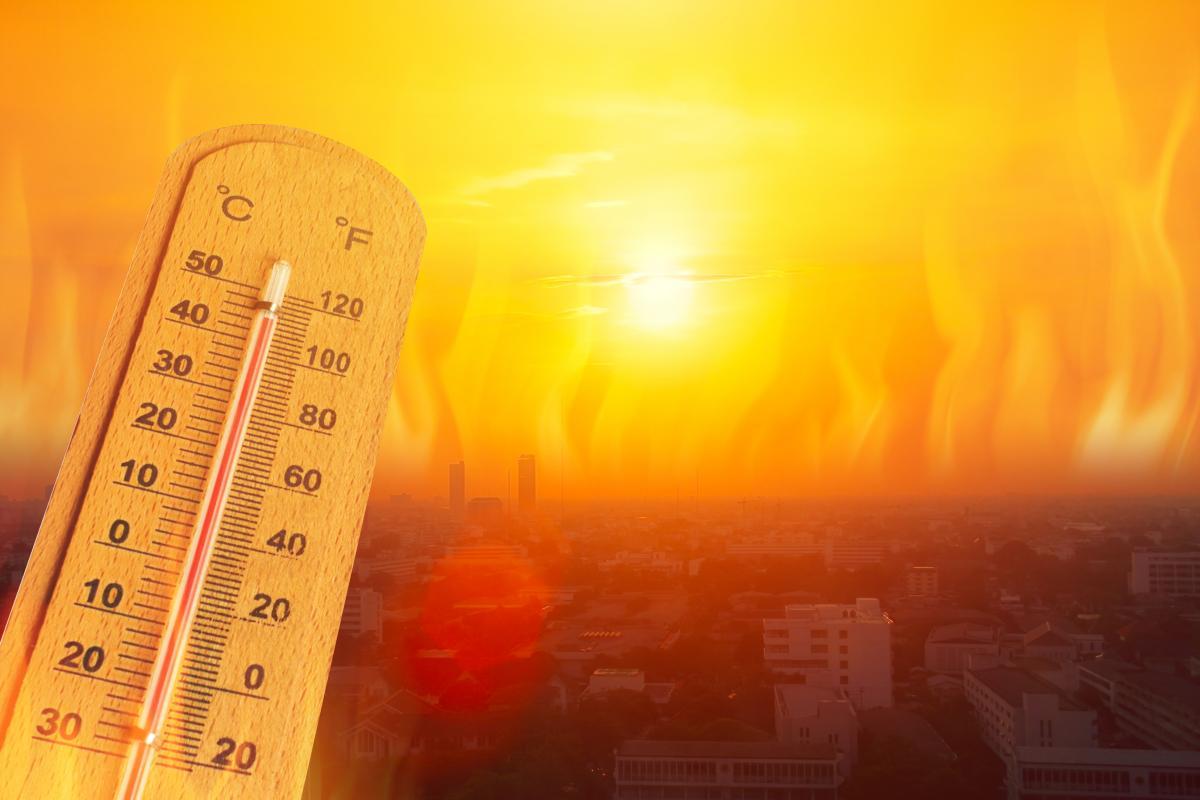 В Україні будуть повторюватися хвилі спеки / фото ua.depositphotos.com