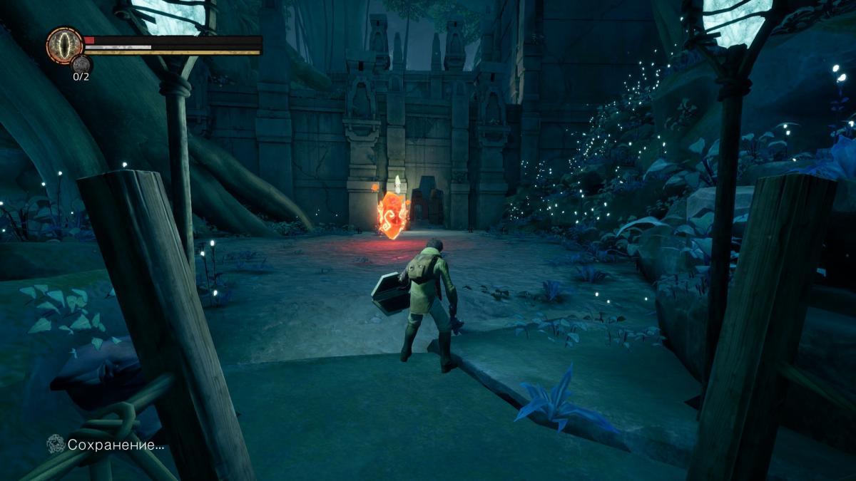 Когда у героя остается мало здоровья, он начинает медленнее бегать и хромать / скриншот