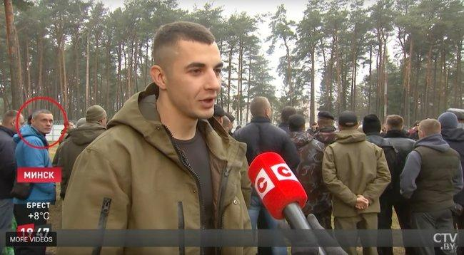 """Анцупов на іспиті білоруських силовиків на право носити """"чорний берет"""""""