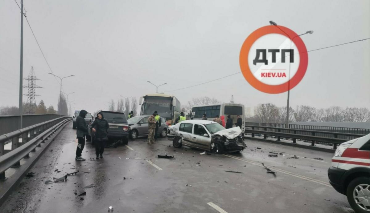 Внаслідок події постраждали двоє людей / фото dtp.kiev.ua