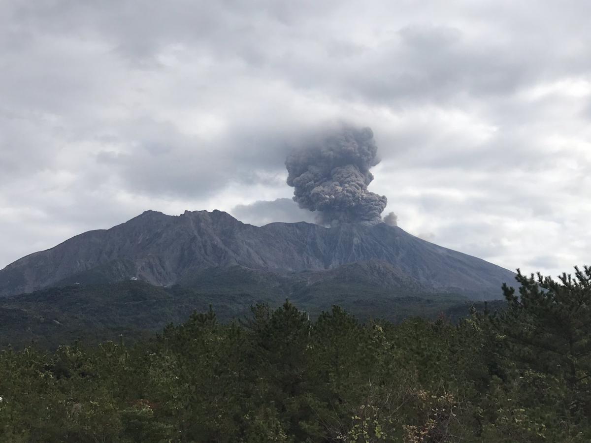 Вулкан почав проявляти активність / Twitter @MeteoVolcanica