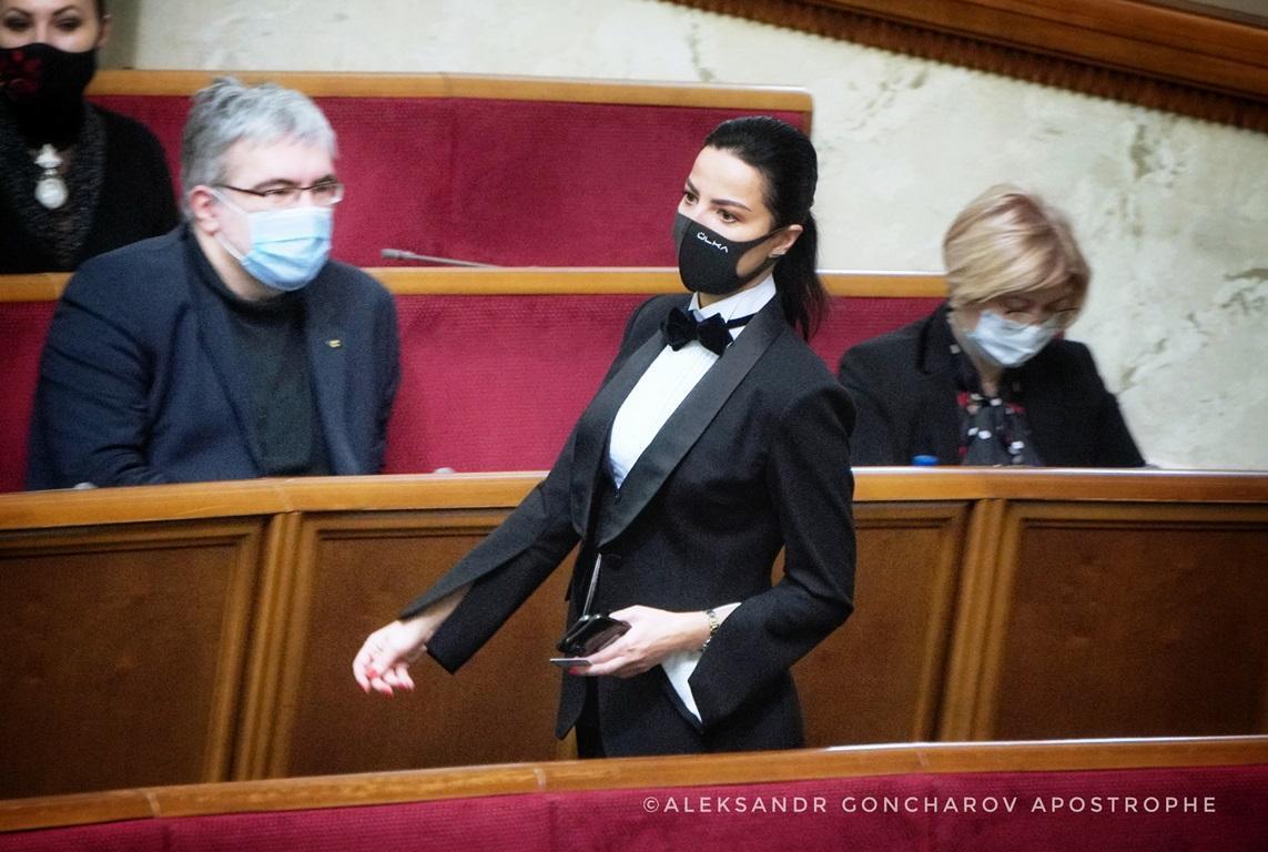 Нардеп показала стильный образ / apostrophe.ua
