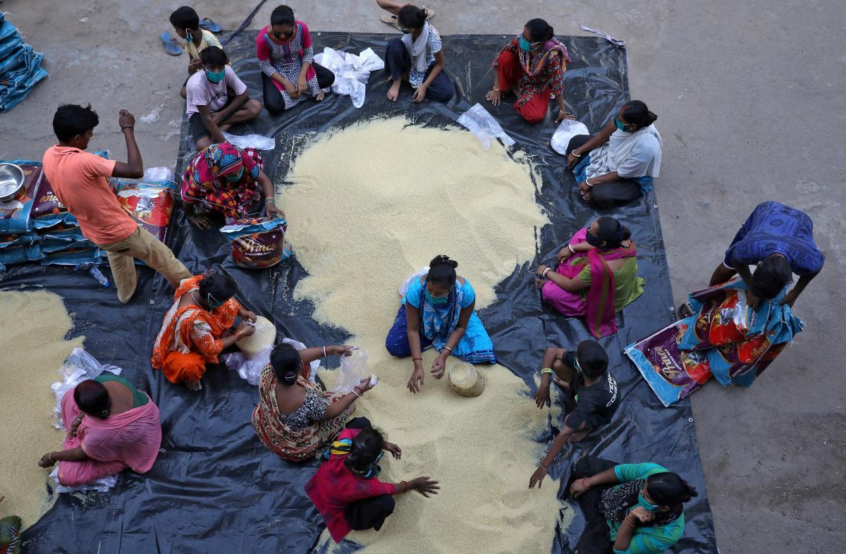 В Индии выявили шесть случаев нового штамма коронавируса / фото REUTERS