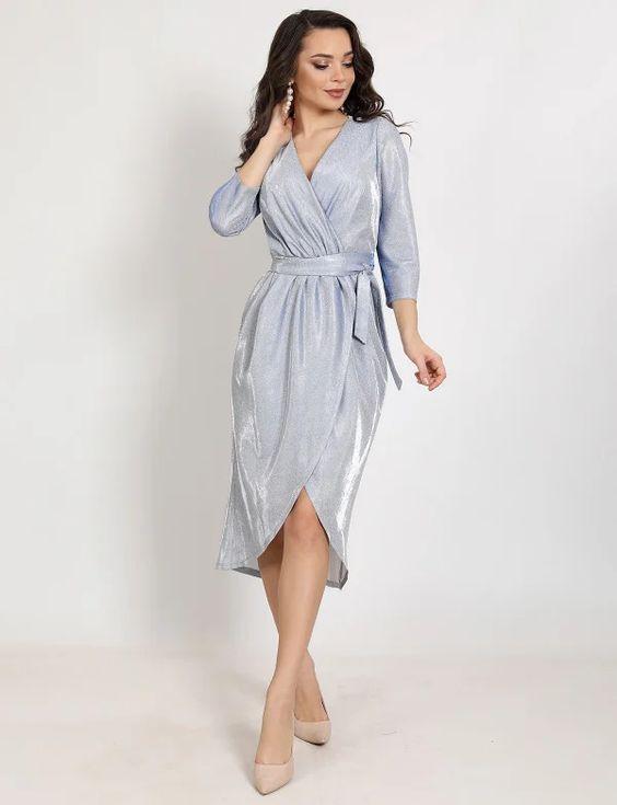 Сукня на Новий Рік 2021 кольору / фото pinterest.com