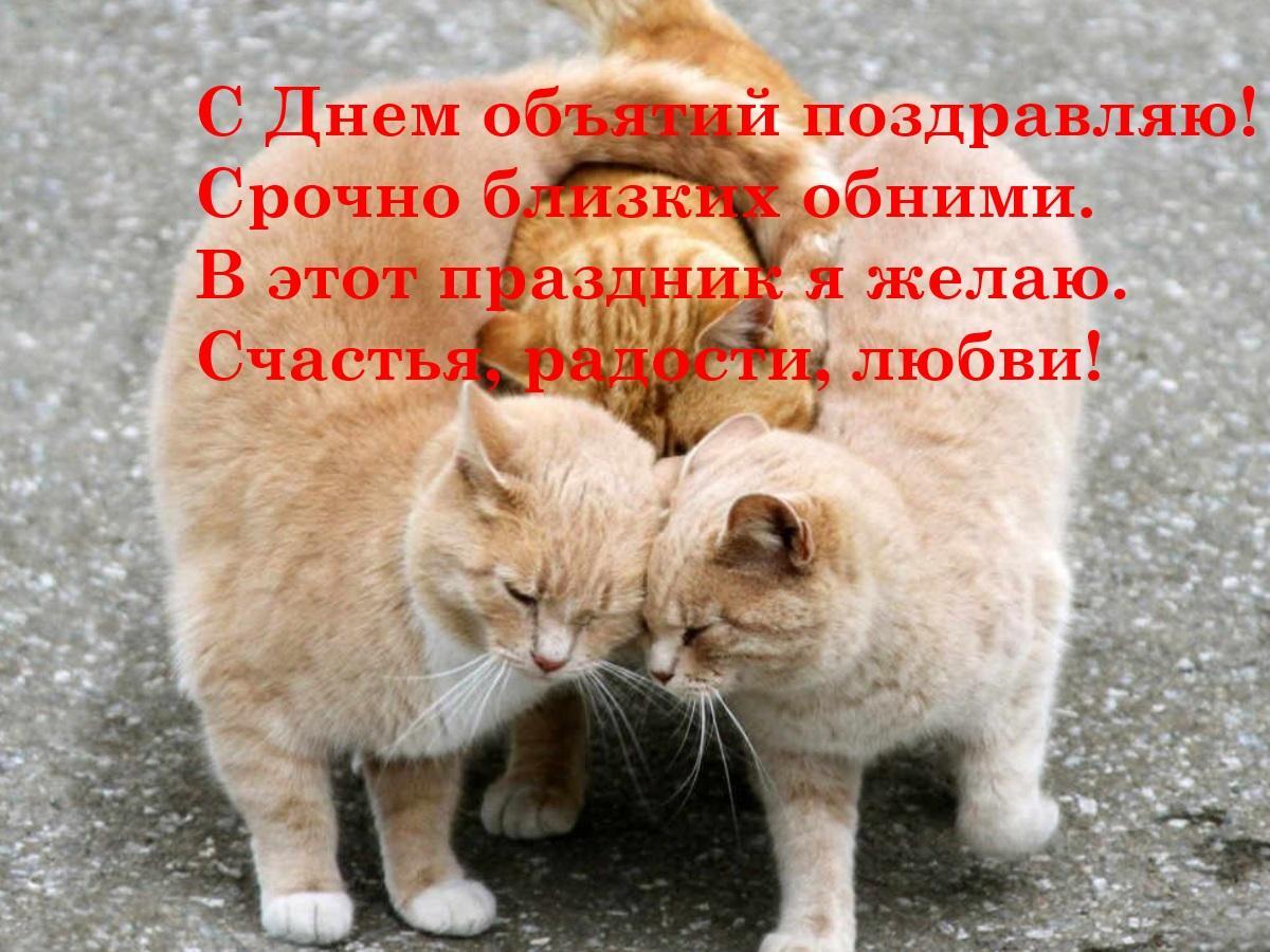 С Днем объятий поздравления / evening-mail.ru