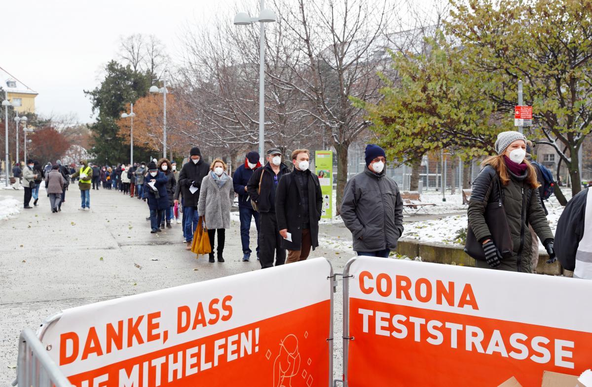В Австрии началось массовое тестирование на COVID-19 / фото REUTERS