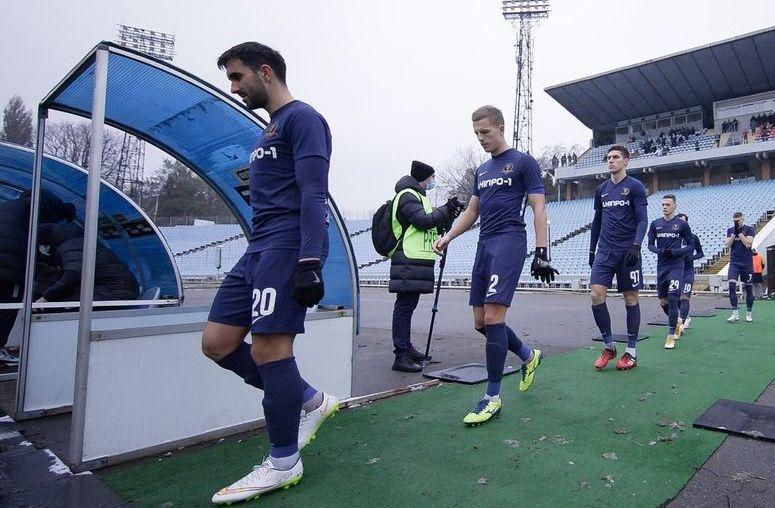 Футболісти Дніпра-1 / фото СК Дніпро-1