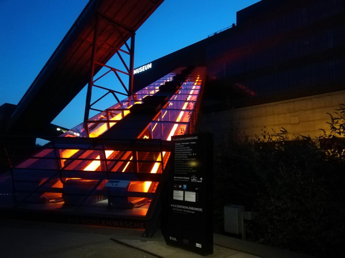 Вхід в музей на території Zeche Zollverein в Ессені / фото Марина Григоренко
