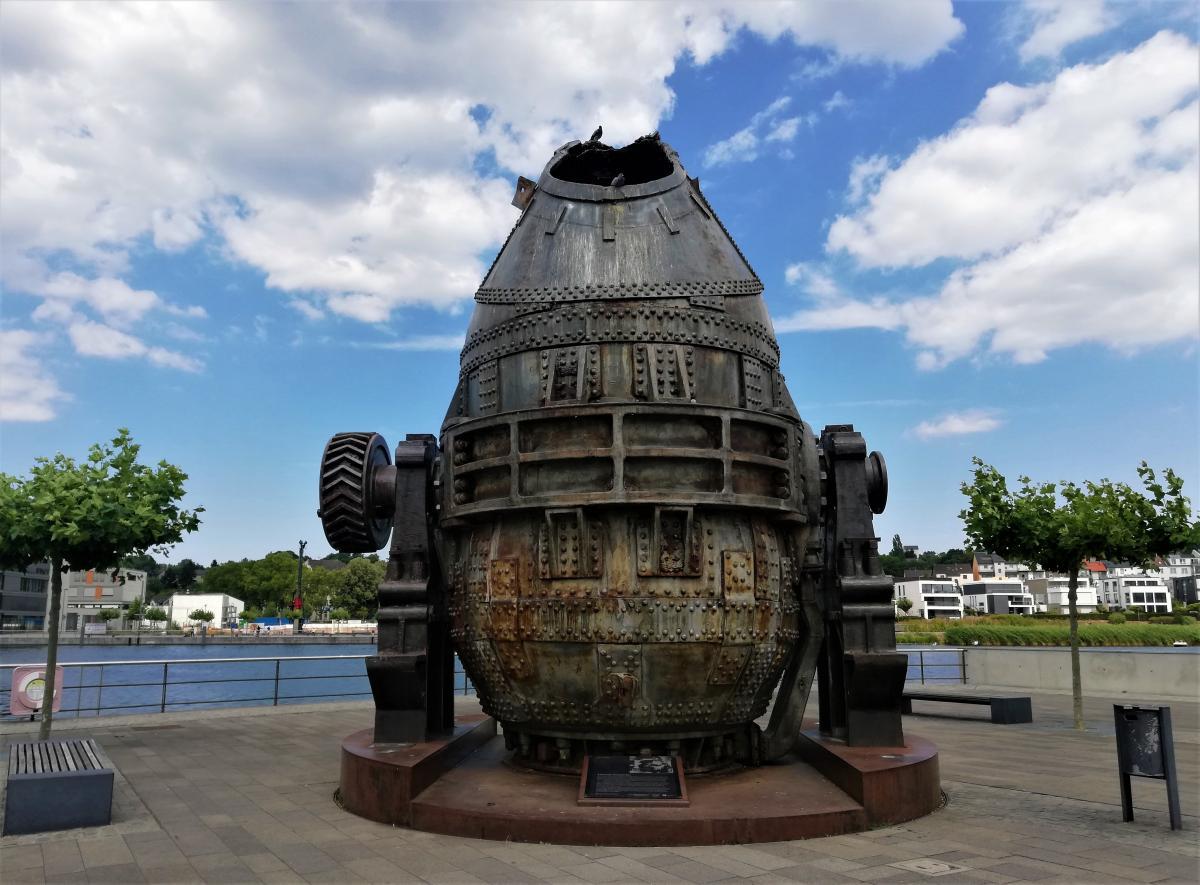 Пам'ятник пічці в Дортмунді / фото Марина Григоренко