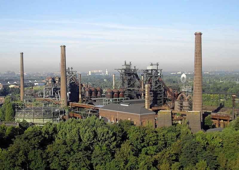 Ландшафтний парк «Дуйсбург-Норд» / фото de.wikipedia.org