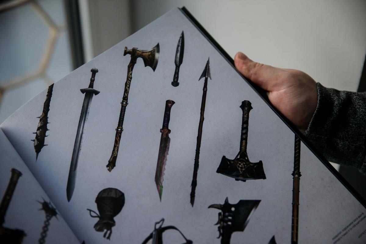 Різноманітна зброя вікінгів /фото УНІАН
