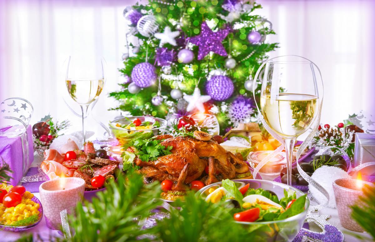 Страви на Новий рік 2021 - новорічне меню / фото ua.depositphotos.com