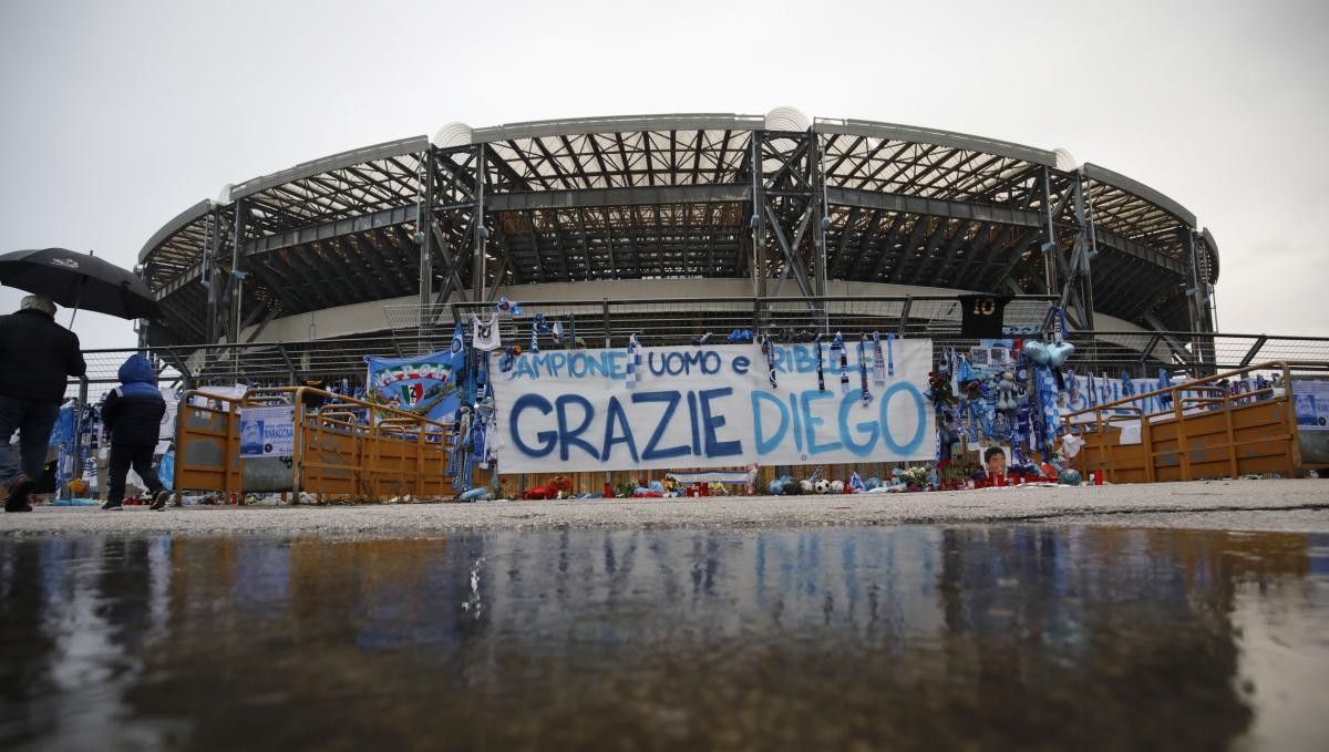 В Італії перейменували футбольний стадіон на честь Марадони