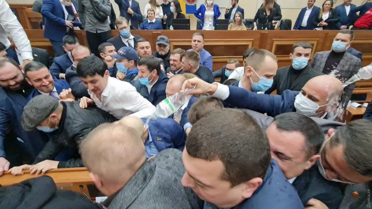 Первая сессия Одесского облсовета / фото Думская