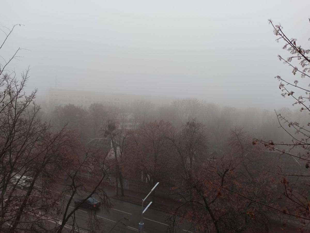 Туман в Києві - рятувальники попередили про небезпеку / Фото instagram.com/paulsvpaul