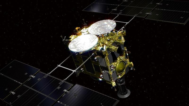 Зонд «Хаябуса-2» запустили в декабре 2014 года \ ru.wikipedia.org