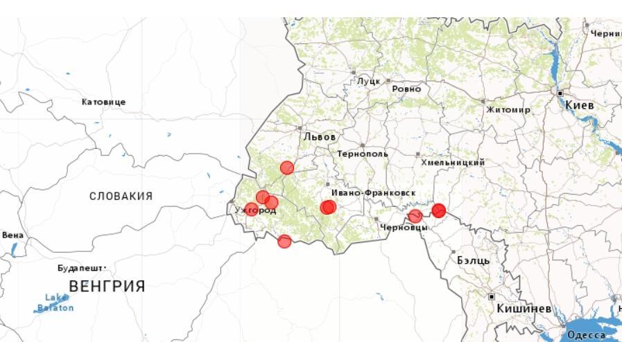 Землетрясения зафиксировали 2 и 3 декабря / скриншот