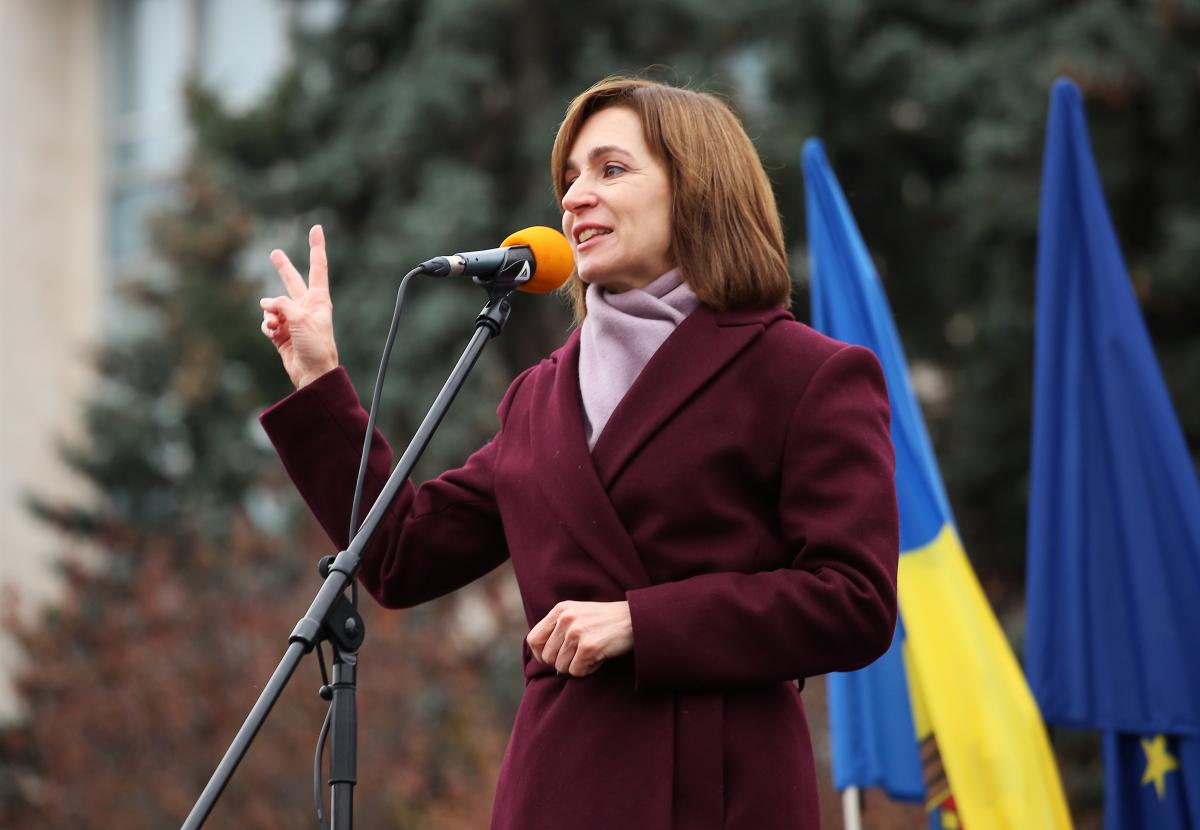 Sandu plans her first foreign visit to Kyiv / REUTERS
