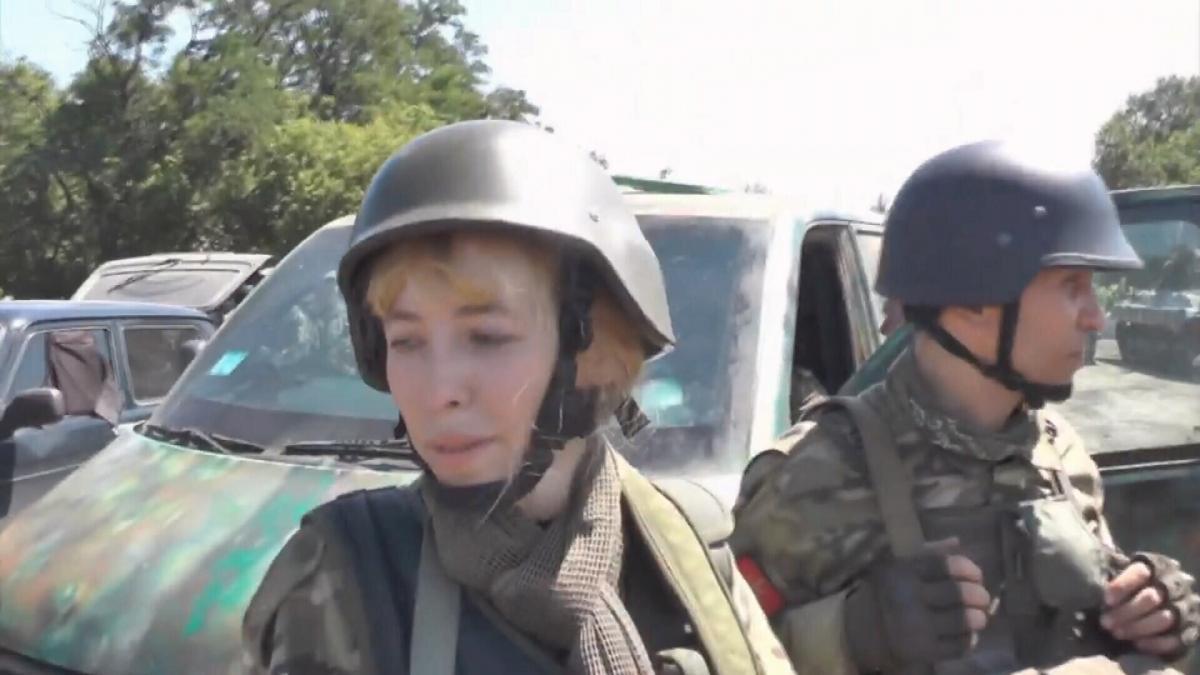 Олена Білозірська / скріншот