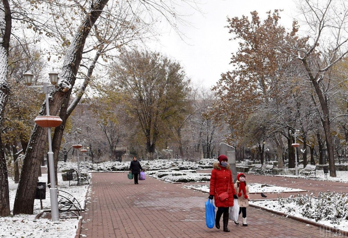 У Києві вночі прогнозують 20 градусів морозу \ фото УНІАН