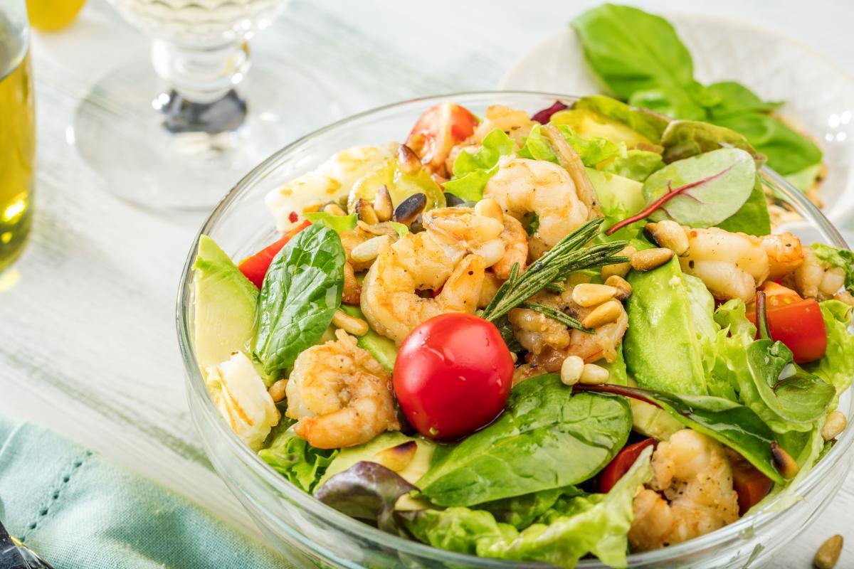 Вкусный салат с креветками - рецепт / фото ua.depositphotos.com