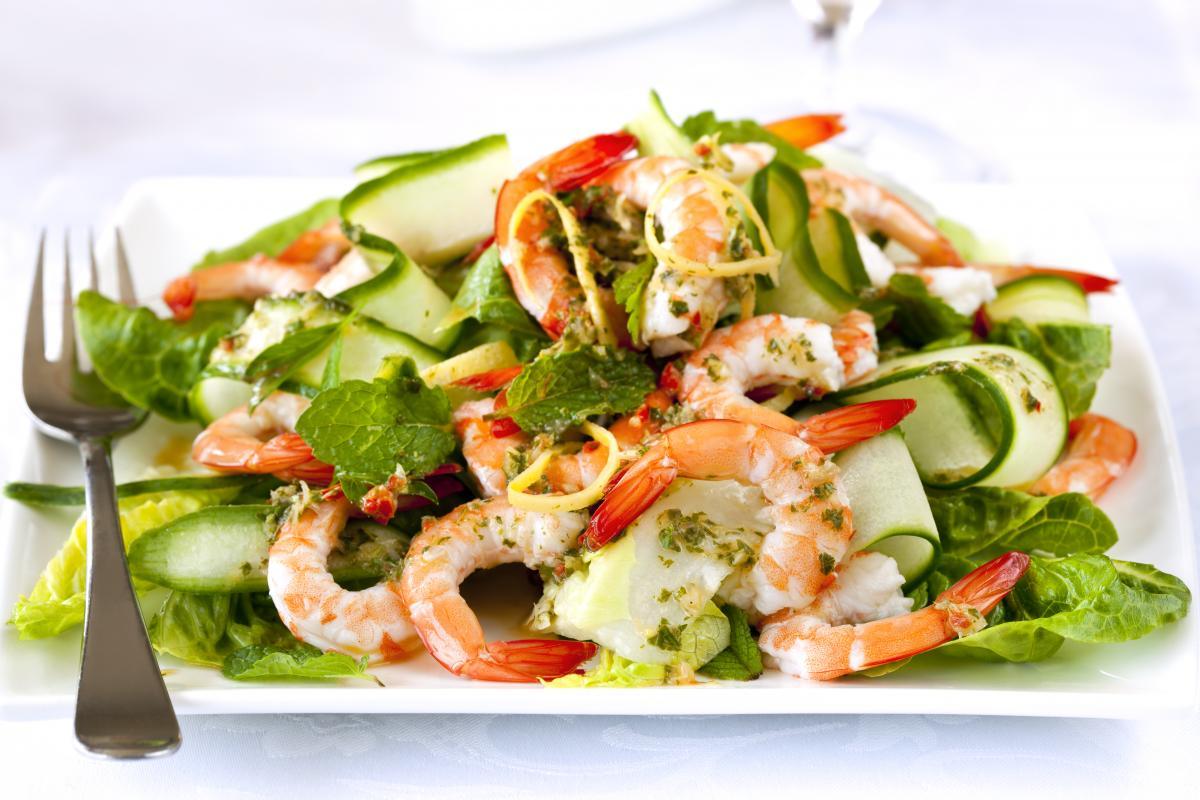 Рецепт салату з креветками / фото ua.depositphotos.com