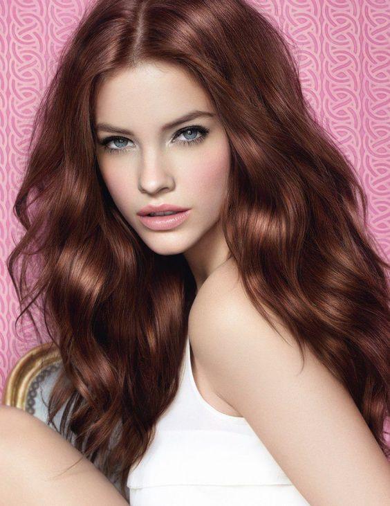 Цвет волос коньяк / фото pinterest.com