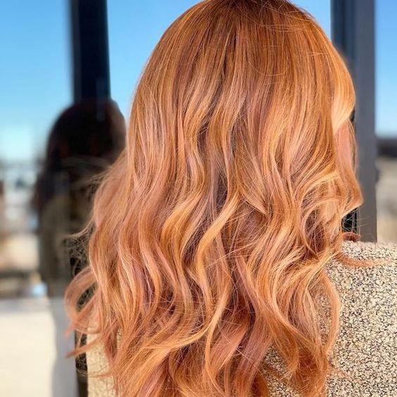 Имбирный цвет волос / фото pinterest.com
