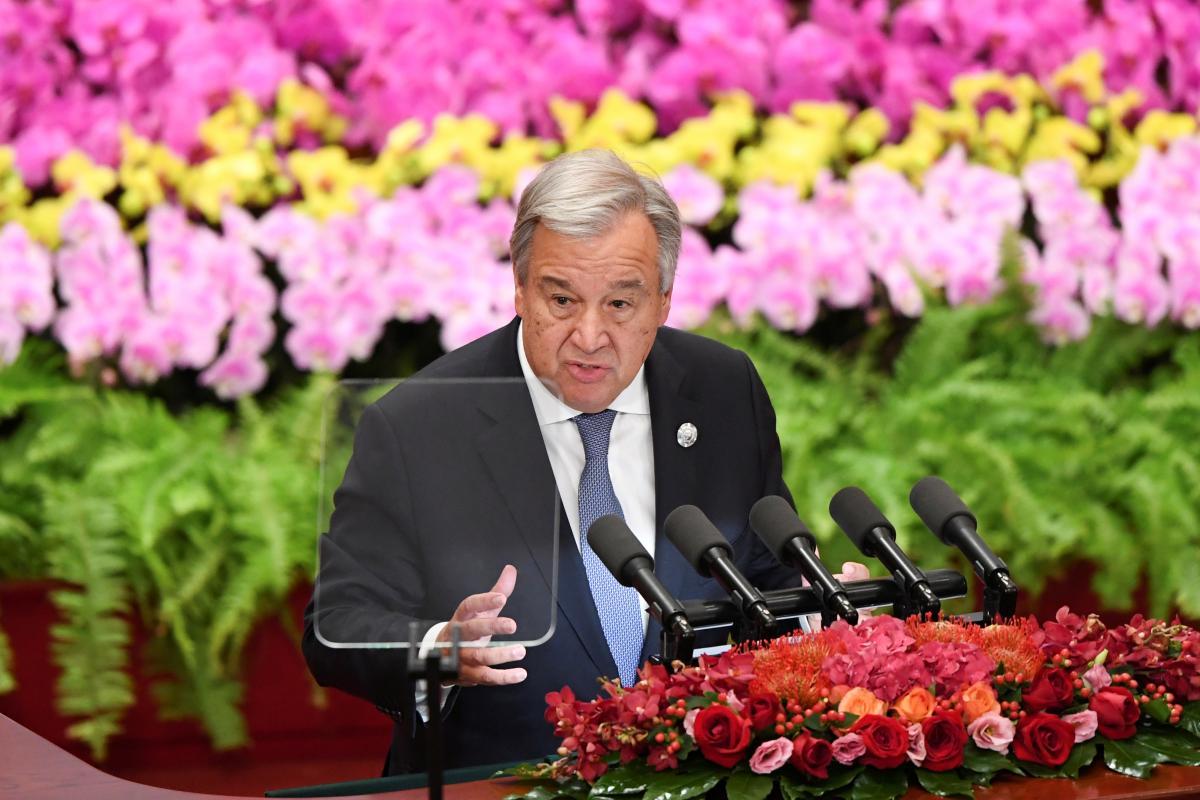 Генсек ООН выразил соболезнования из-за смерти украинского миротворца в Конго / фото REUTERS