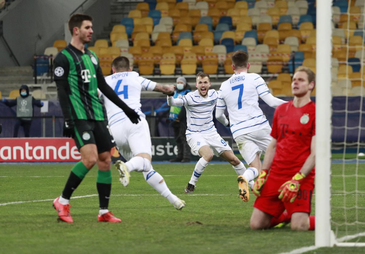 Dynamo Kyiv - Ferencvaros / REUTERS