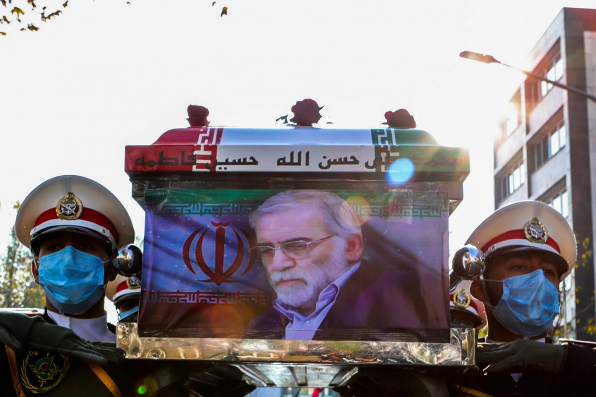В Иранезаявили о задержании подозреваемых в убийстве Мохсена Фахризаде / фото REUTERS