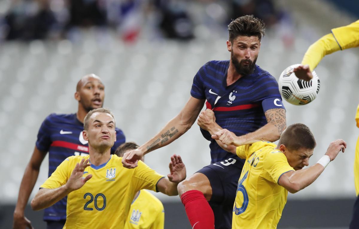 Украина начнет квалификацию ЧМ-2022 выездным матчем с Францией/ фото REUTERS