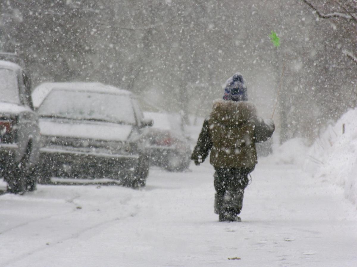 Сегодня в Украине ожидаются снегопады / Фото ua.depositphotos.com