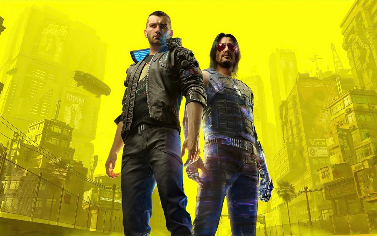 Ви и Джонни Сильверхенд — герои Cyberpunk 2077 /фото CD Projekt RED