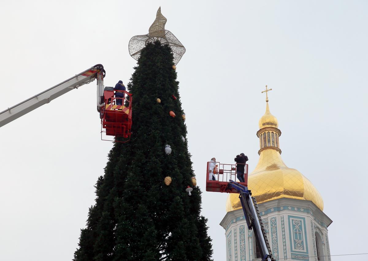 Где отметить Новый год 2021 в Киеве / фото REUTERS