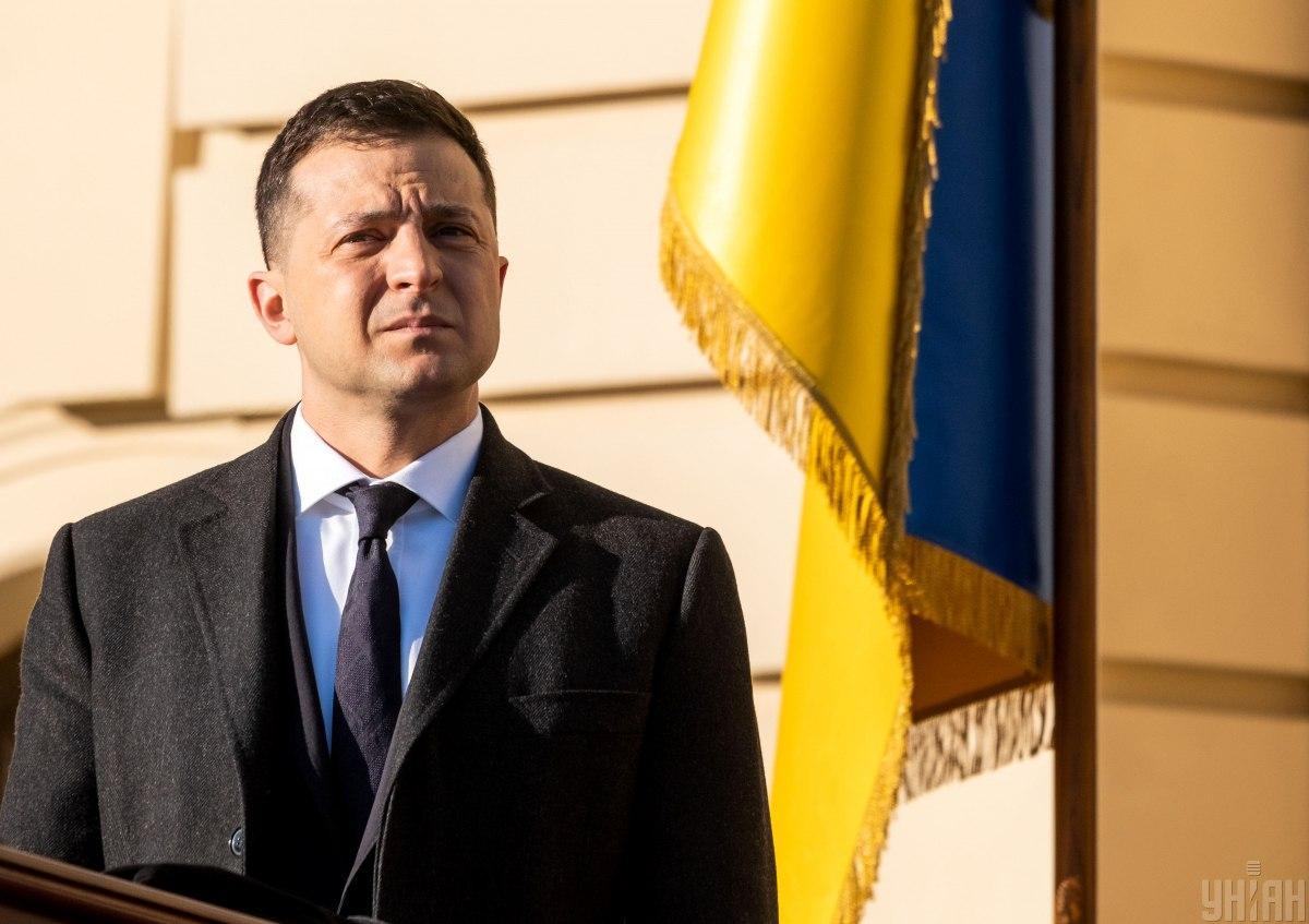 Зеленский заявляет о готовности украинской стороны к новому этапу разведения войск / фото УНИАН