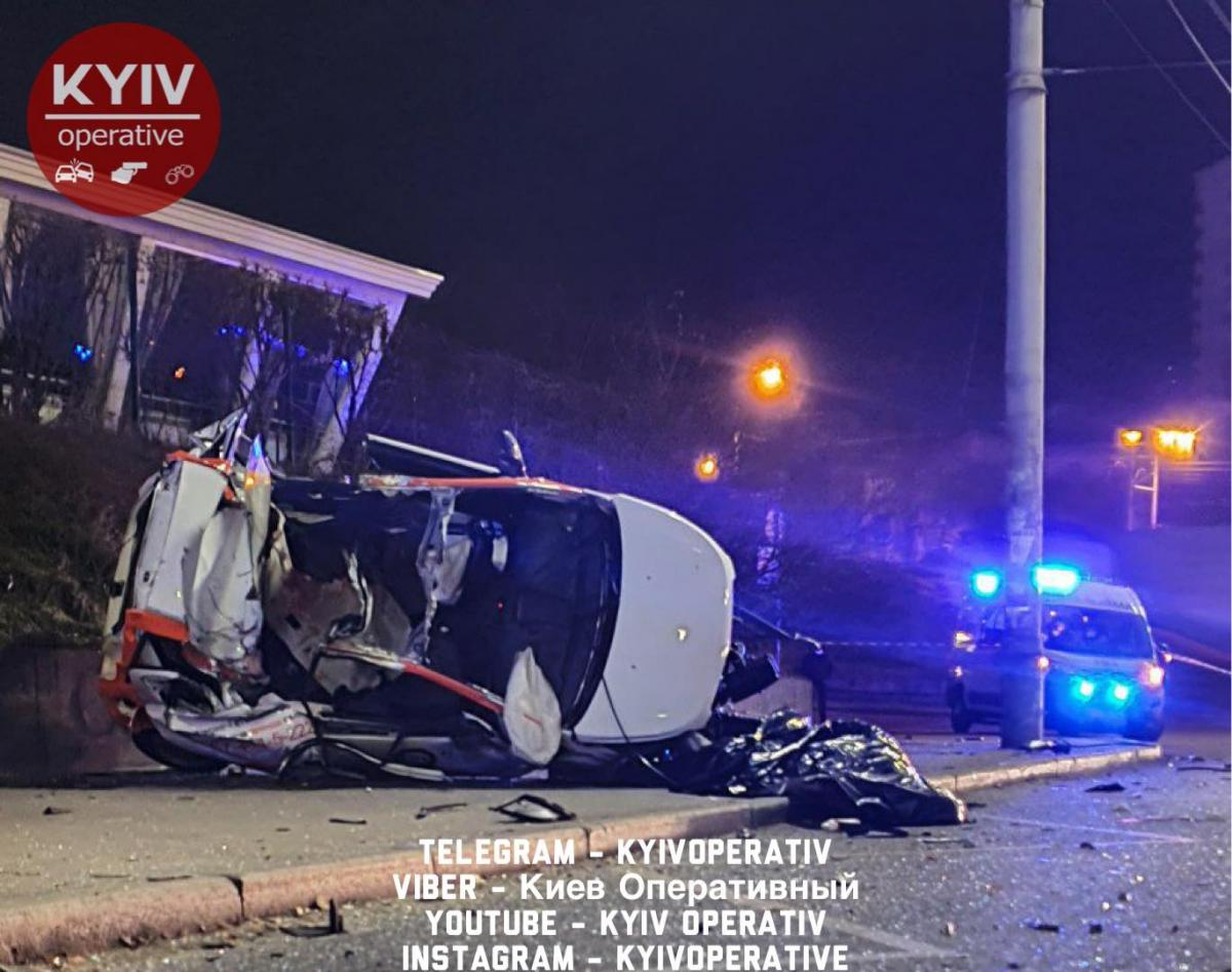 Загинули двоє осіб /Киев Оперативный Facebook