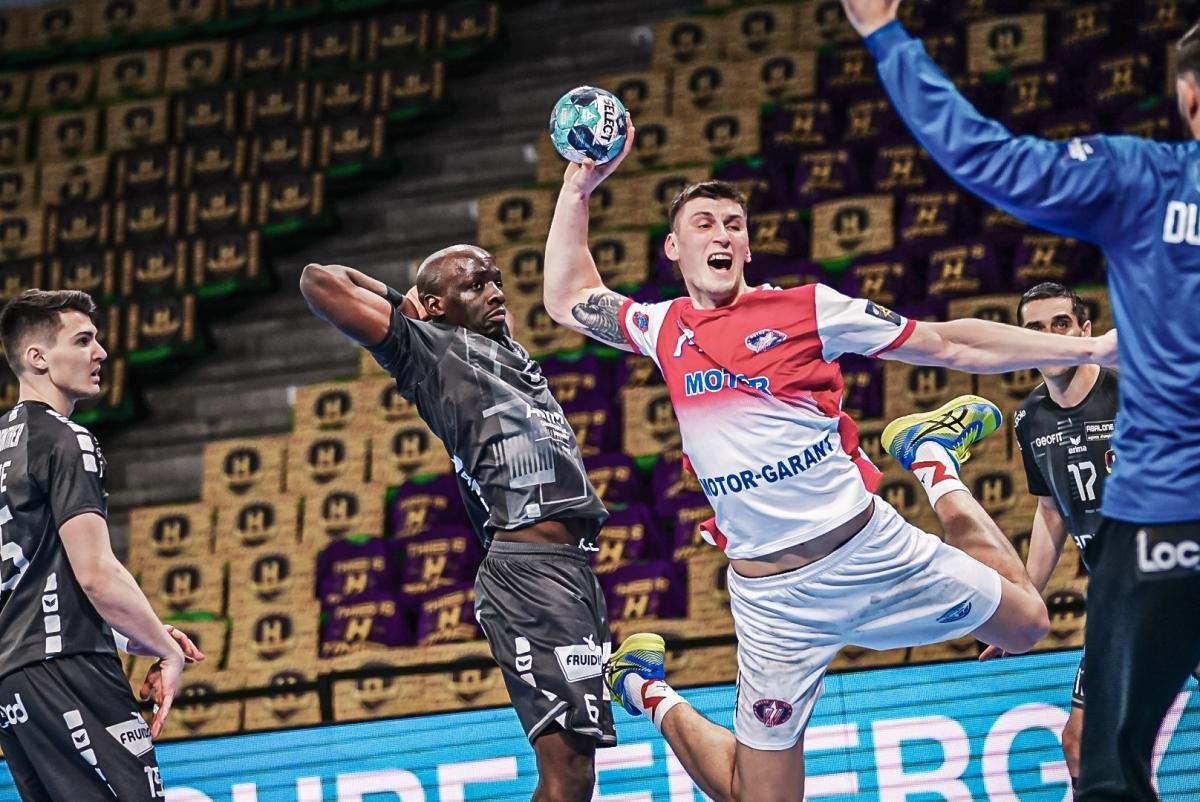 Мотор выиграл во Франции / фото handball.motorsich.com