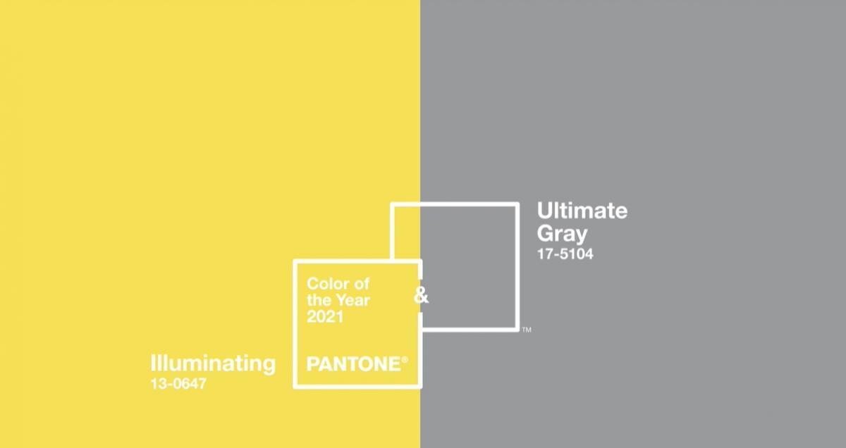 КPantone 17-5104 Ultimate Grey иPantone 13-0647 лучше всего выражают настроение цвета Pantone на будущий год, сообщают в Институте цвета / фото Скриншот