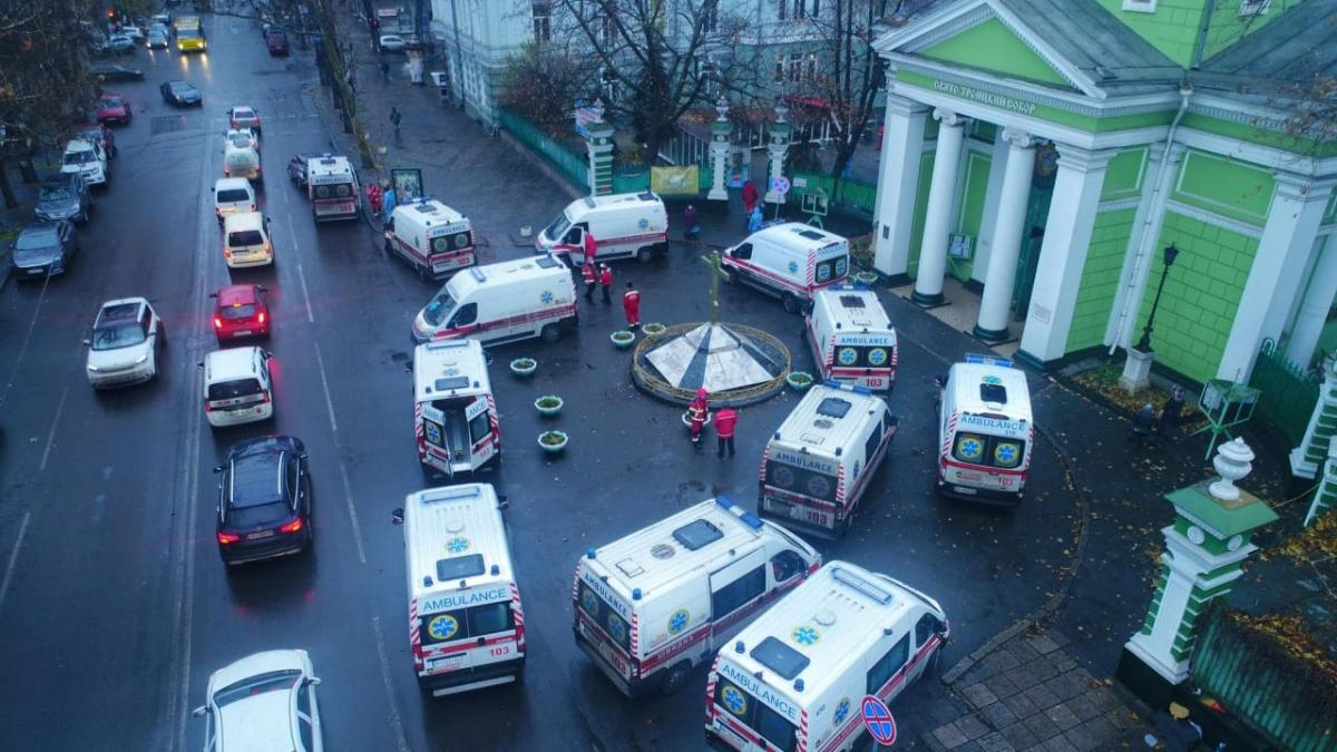 Фото 5-й городской больницы в Одессе / facebook.com/maksym.stepanov.official