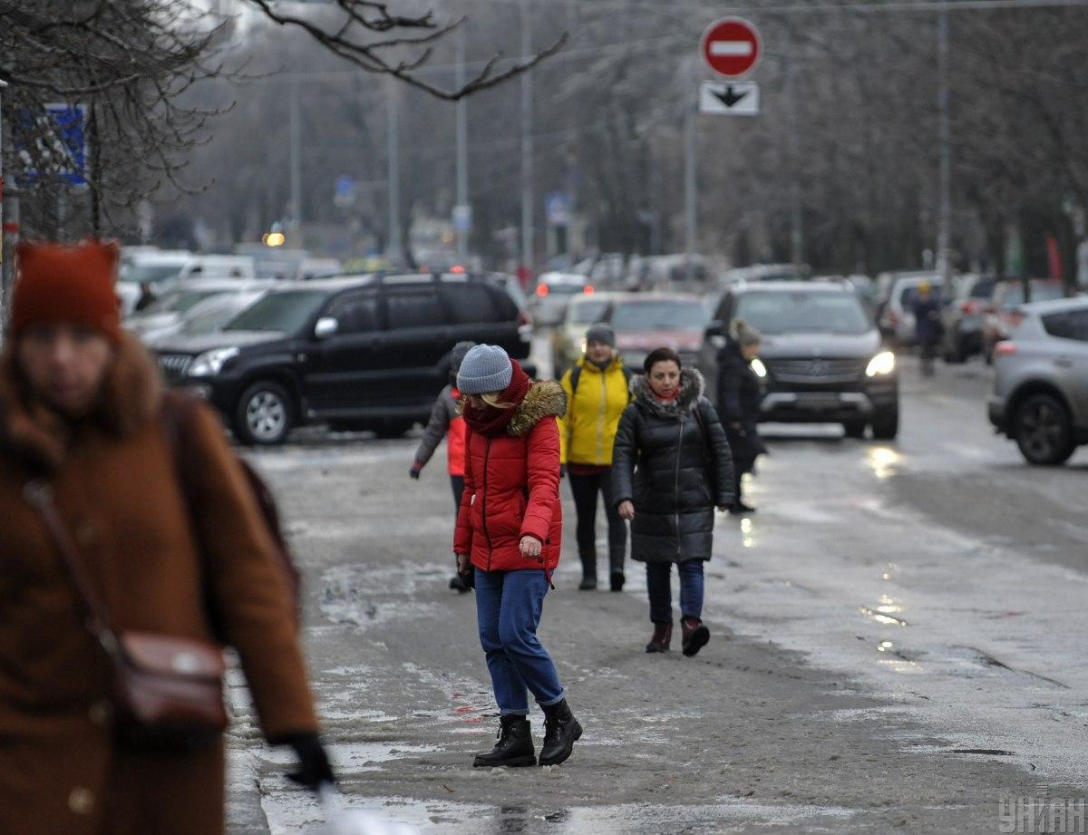 От гололеда в Украине пока не удастся избавиться / фото УНИАН, Чузавков Сергей