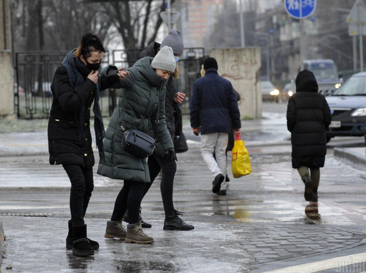 В Киеве ожидается гололедица / фото УНИАН, Чузавков Сергей