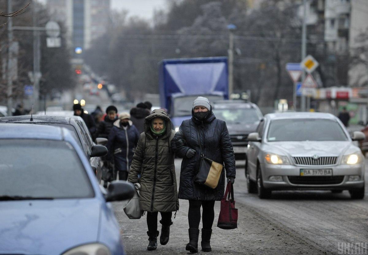 Водителям дали рекомендации из-за гололедицы на дорогах / фото УНИАН, Чузавков Сергей
