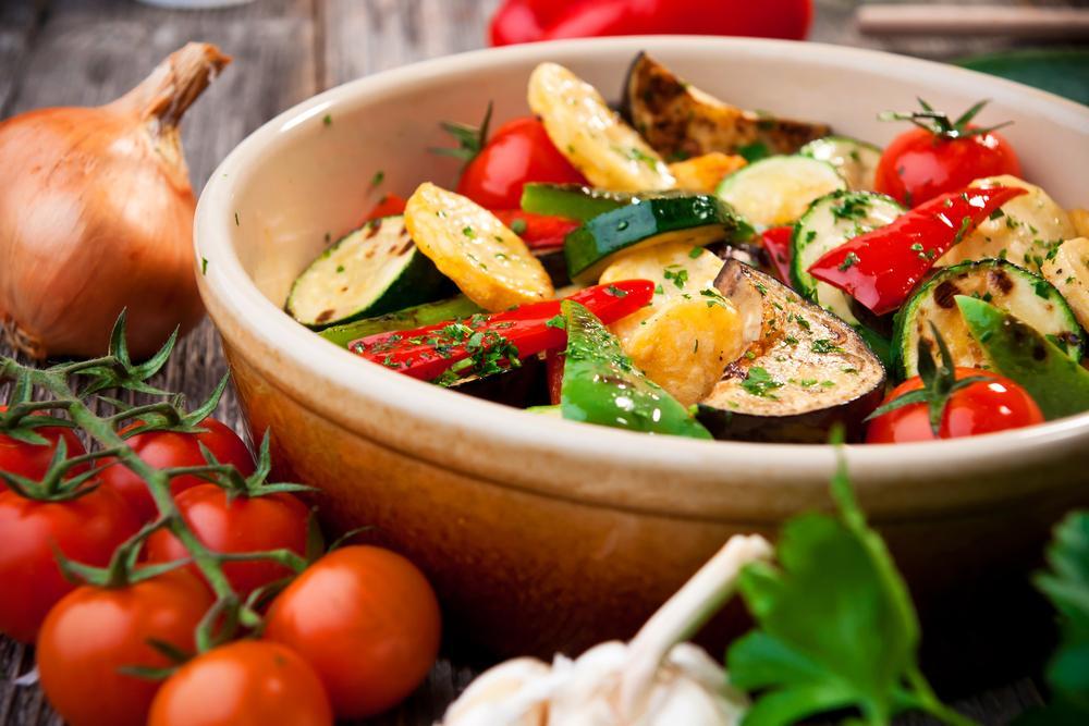 Овощи запеченные в фольге / фото ua.depositphotos.com