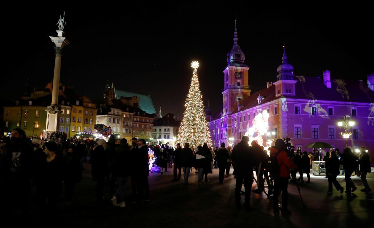 25 декабря Рождество у западных христиан/ фото REUTERS