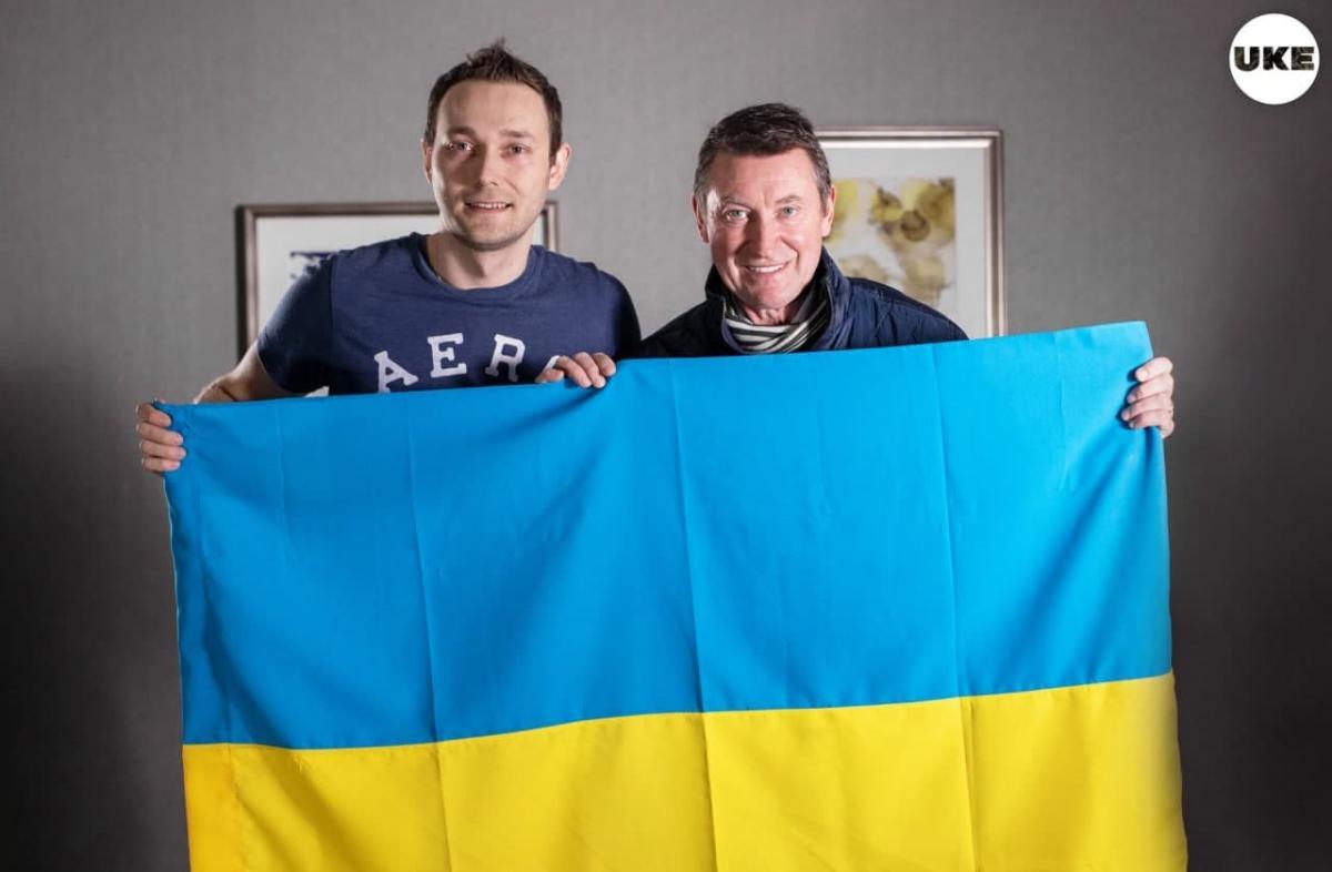 Володимир Мула та Вейн Грецкі / фото Facebook Володимир Мула